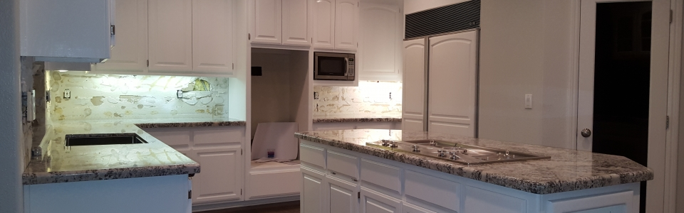 Granite Countertops with Demi-Bullnose